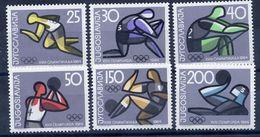 YUGOSLAVIA 1964 Olympic Games MNH / **.  Michel 1076-81 - 1945-1992 Socialist Federal Republic Of Yugoslavia