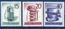 YUGOSLAVIA 1960 Nuclear Energy Exhibition  MNH / **.  Michel 927-29 - 1945-1992 Socialist Federal Republic Of Yugoslavia