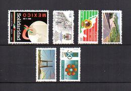 México  1993 .  Y&T  Nº   1501-1502-1503-1504/1505-1506   ** - Mexico