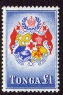 Tonga 1953 £1 Coat Of Arms Definitive, MNH, SG114 - Tonga (...-1970)