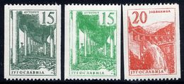 YUGOSLAVIA 1959 Definitive Coil Stamps  MNH / **.  Michel 898a,b-899 - 1945-1992 Socialist Federal Republic Of Yugoslavia