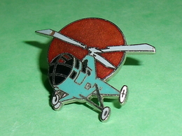 Pin's / Avions  : Hélicoptère 30 X 35 Mm   TB2V - Airplanes