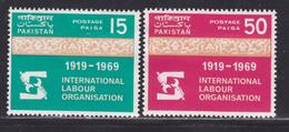 PAKISTAN N°  269 & 270 ** MNH Neufs Sans Charnière, TB (D4542) Organisation Internationale Du Travail, OIT - Pakistan