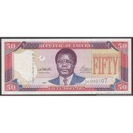 TWN - LIBERIA 24a - 50 Dollars 1999 Prefix DA UNC - Liberia