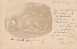 SOUDAN Français (MALI): Marché De KALI (scan Recto-verso, Timbres) - Mali