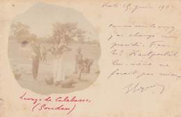 SOUDAN Français (MALI): Lavage De Calebasses (scan Recto-verso, Timbre) - Mali