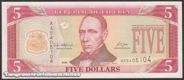 TWN - LIBERIA 26c - 5 Dollars 2006 Prefix AA UNC - Liberia