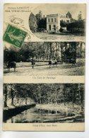 33 YVRAC Le Chateau LABATUT   Vaches Coin De Paturage Sous Bois Piece D'eau 1910 /D07-2017 - France