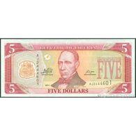 TWN - LIBERIA 26g - 5 Dollars 2011 Prefix AJ UNC - Liberia