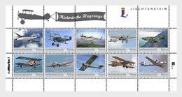 Liechtenstein - Postfris / MNH - Sheet Historische Vliegtuigen 2017 - Liechtenstein
