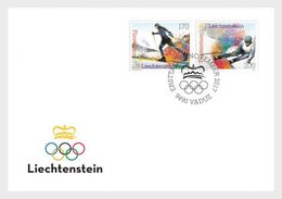 Liechtenstein - Postfris / MNH - FDC Olympische Spelen 2017 - Liechtenstein