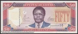 TWN - LIBERIA 29b - 50 Dollars 2004 Prefix DA UNC - Liberia