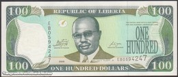TWN - LIBERIA 30e - 100 Dollars 2009 Prefix EB UNC - Liberia
