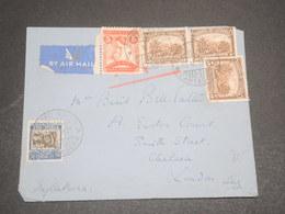 COLOMBIE - Enveloppe De Cartagena Pour La Grande Bretagne En 1937 , Affranchissement Plaisant - L 12334 - Colombie