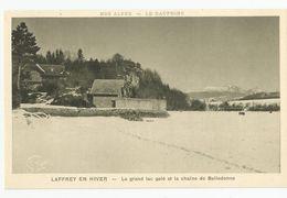Isère - 38 Laffrey Le Grand Lac Gelé Et La Chaine De Belledonne Ed Girard Grenoble - Laffrey