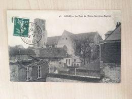 62 - CPA Arras - La Tour De L'Eglise Saint-Jean-Baptiste - Arras