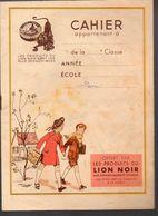 Couverture De Cahier LION NOIR  (PPP6704) - Seals Of Generality