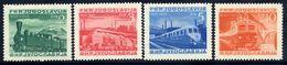 YUGOSLAVIA 1949 Centenary Of Railways In Yugoslavia  MNH / **.  Michel 583-86 - Unused Stamps