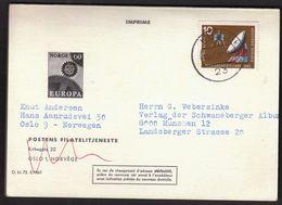 Norway 1967 / Europa CEPT / Prospectus, Leaflet, Brochure - Europa-CEPT