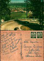 8083a)cartolina-bad Driburg -ausblick Vam Eggegerbirge - Germany