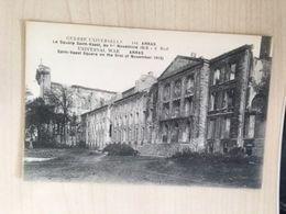 62 - CPA Arras - Le Square Saint-Vaast, Au 1er Novembre 1915 - (E.Ruff-141) - Arras