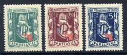 YUGOSLAVIA 1948 Zagreb Fair  MNH / **.  Michel 539-41 - Unused Stamps