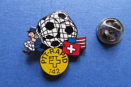 Pin's, PTT RAPID, WM 94 USA, Football, Fussball, Soccer, La Poste Suisse - Badges