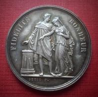 Médaile En Argent. Mariage Chrétien. 1894 - Religion & Esotérisme