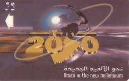 TARJETA TELEFONICA DE OMAN. (105) - Oman