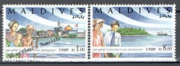 Maldives - Maldivas 1994 Yvert 1921-22, United Nations Conference On Population And Developement - MNH - Maldives (1965-...)
