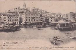 TURQUIE CARTE POSTAL DE CONSTANTINOPLE - Türkei