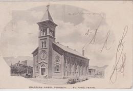USA 1920 CARTE POSTALE DE EL PASO  GUARDIAN ANGEL CHURCH - El Paso