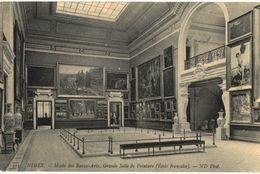 CPA N°17896 - NIMES - MUSEE DES BEAUX ARTS - GRANDE SALLE DE PEINTURE - Nîmes