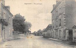 CPA 37 INGRANDES RUE PRINCIPALE - Autres Communes