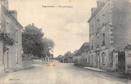 CPA 37 INGRANDES RUE PRINCIPALE - France
