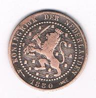 1 CENT 1880  NEDERLAND /70G/ - [ 3] 1815-… : Kingdom Of The Netherlands