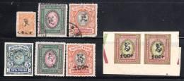 ARMENIE - LOT De 8 TIMBRES Obl/**  - 1919/20 - - Armenia