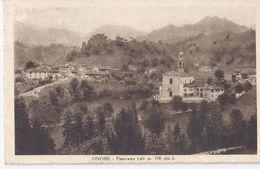 ONORE (Bergamo)  1949 Panorama (alt. M. 700 S/m) - Autres Villes