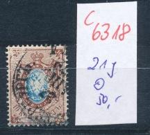 Russland Nr. 21 Y  O (c 6318 ) -siehe Bild - Gebraucht