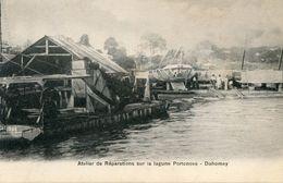 DAHOMEY(PORTO NOVO) ATELIER DE REPARATION DE BATEAU - Dahomey
