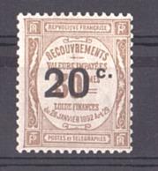 1917 - Timbre-Taxe N° 49 - Neuf * - 1859-1955.. Ungebraucht