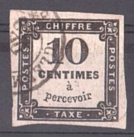 1859 - Timbre-Taxe N° 2A - Taxes