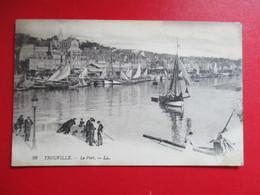 CPA 14 TROUVILLE LE PORT - Trouville