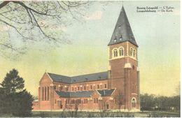 Leopoldsburg - Bourg-Léopold - CPA - De Kerk - L'Eglise - Leopoldsburg (Kamp Van Beverloo)
