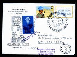 A5093) Polen Poland Ballonpost-Brief Kattowitz 6.6.76 - 1944-.... Republik