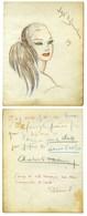 ZAMORA José De (1889-1971), Peintre, Décorateur Et Costumier. - Autografi