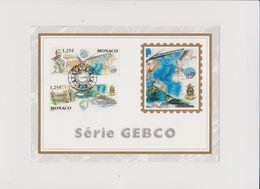 MONACO    2003  Encart  Y.T. N° 2391  2392  Oblitéré - Mónaco