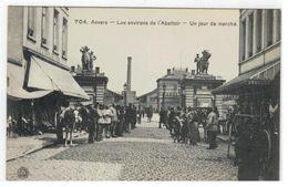 704 . Anvers -  Les Environs De L'Abattoir - Un Jour De Marché - Antwerpen