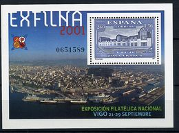 "Espagne** Bloc N° 97 - ""Exfilna 2001"" Expo Philat. - Blokken & Velletjes"