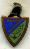 Insigne 7é Rgt Du Genie___drago - Armée De Terre
